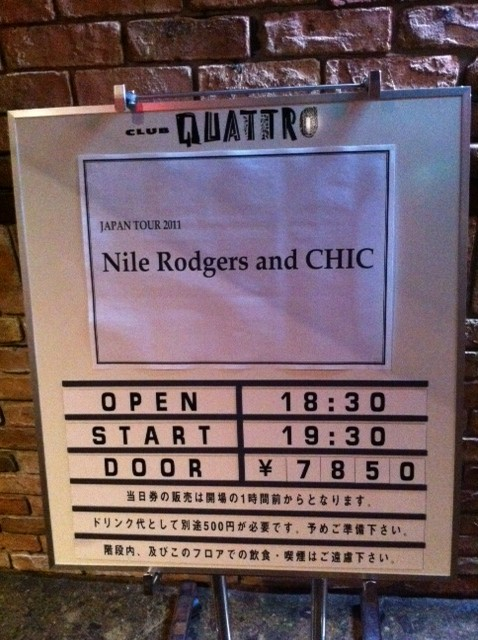 nile rodgers&chic 2011