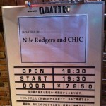 NILE RODGERS & CHIC Japan Tour 2011