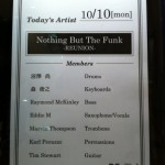 Nothing But The Funk~Reunion Tour 2011.10.10. @ Billboard Live Osaka