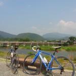 [ロードバイク] 灼熱の嵐山サイクリング