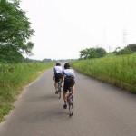 [ロードバイク] 義父トリオで走る淀川沿いツーリング