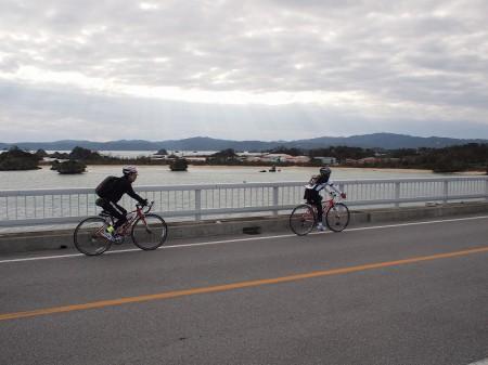 古宇利橋、絶景なり
