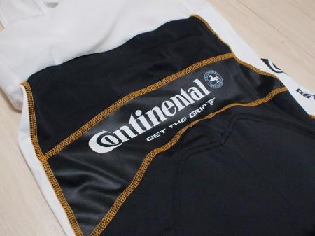 Continental Logo Bib Shorts背面