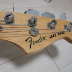 [Fender Mexico] Fender Classic Series '70s Jazz Bass購入!