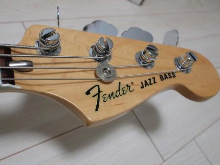 Fender '70s Jazz Bassヘッド