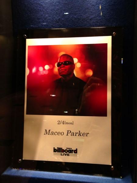 Maceo Parker @Billboard Live Osaka 2013