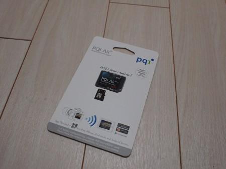 """Wi-Fi搭載!PQI """"Air Card"""""""