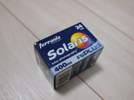 名フィルム!? Solaris 400