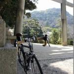 ロードバイクで淀川CR→八幡市駅まで