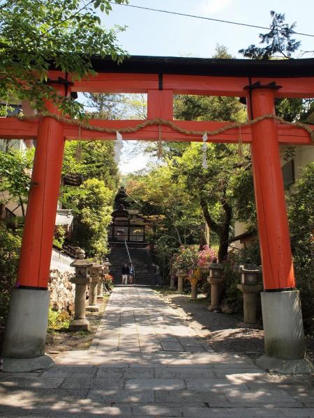 宇治神社にて