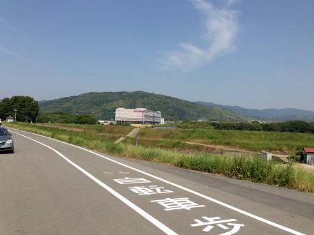 御幸橋から桂川CRへ