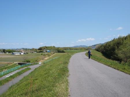 木津川CRは今日もロード乗りがいっぱいいました