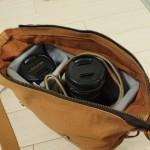 普段使いのカバンをカメラバッグに!HAKUBAインナーソフトボックス