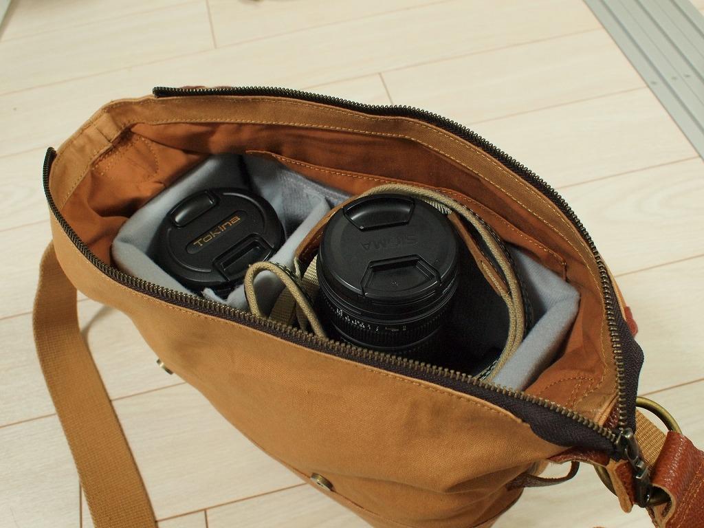 カメラバッグになりました