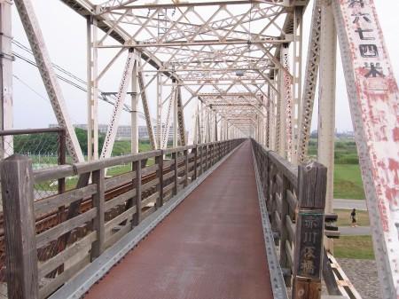 10月に閉鎖。赤川仮橋