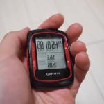 [GPS] ロードバイクをさらに楽しむアイテム!「Garmin Edge 500」購入!