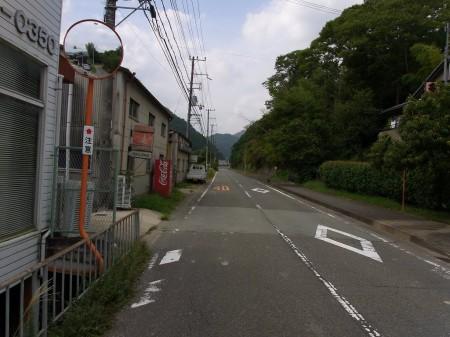 田舎道R602