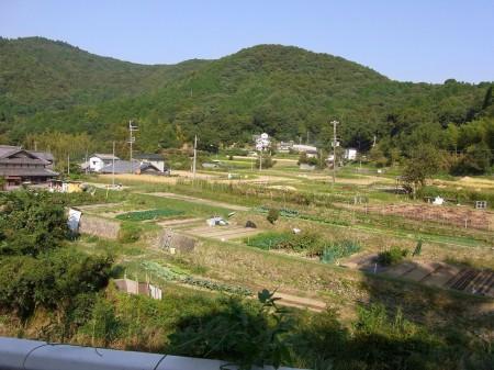 里山の景観絶景なり