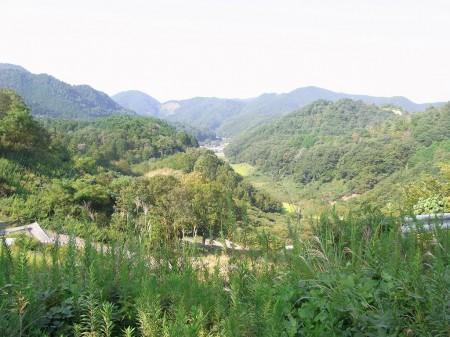 大槌峠からの眺め