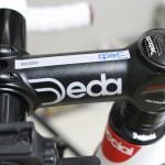 """ロードバイクのステムを""""Deda Zero100 SERVIZO CORSE""""に交換!"""