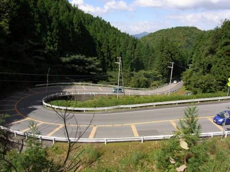 篠山側R12をダウンヒル