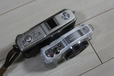 PEN E-P1&GF5