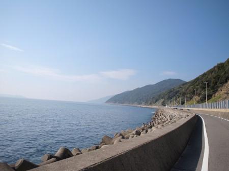 紀伊水道側の絶景