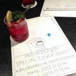 "INO Hidefumi""SPECIAL COVER NIGHT""@Billboard Live Osaka"