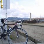 [ロードバイク] 暴風でリタイア!?大阪から武庫川サイクリングロードで宝塚まで走る。