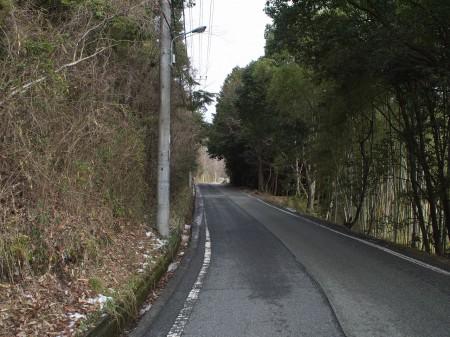 いざ大坂峠へ