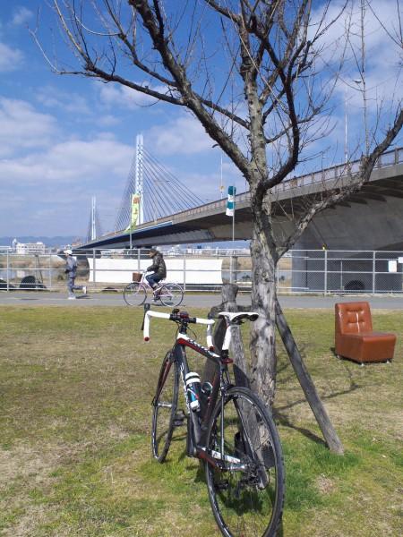 城北公園から淀川CRへ