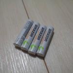 "Amazonベーシックの充電池""ニッケル水素電池""を購入!"