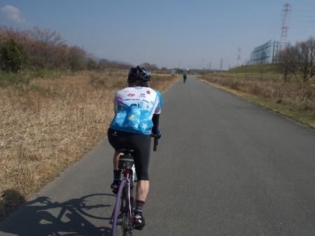 淀川を京都方面へ