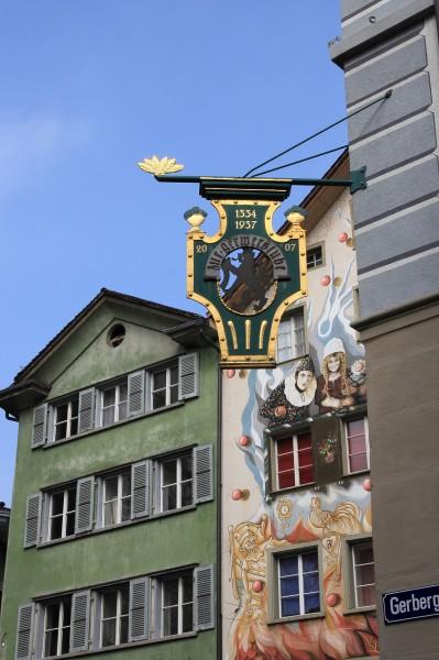 旧市街の風情