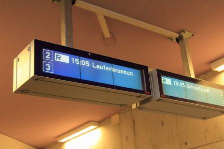 ラウターブルンネンへ