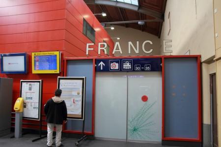 フランスとの境