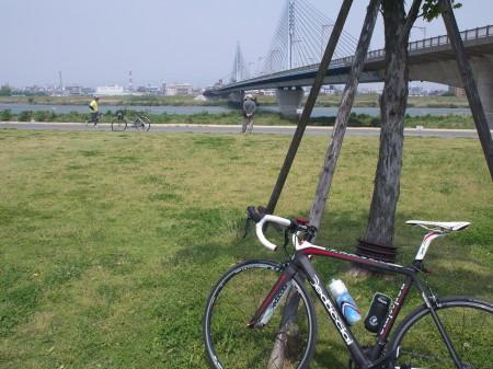 淀川を基点にスタート
