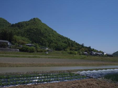 上青野の辺りはとても静か