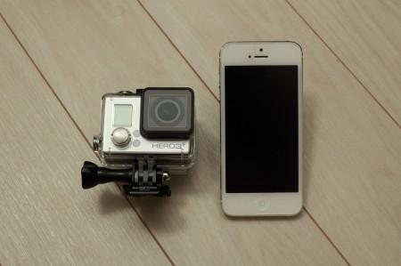 iPhone5と比べてみる