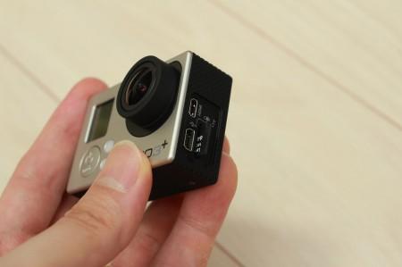 microSDを差し込む
