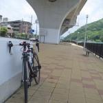 雨宿りライド!ロードバイクで一庫ダム・阿古谷を走る (with Gopro)!