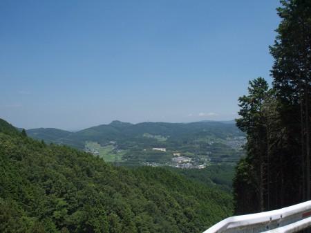 すっかり山の風景に