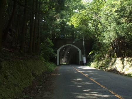 トンネルから野間峠ダウンヒル