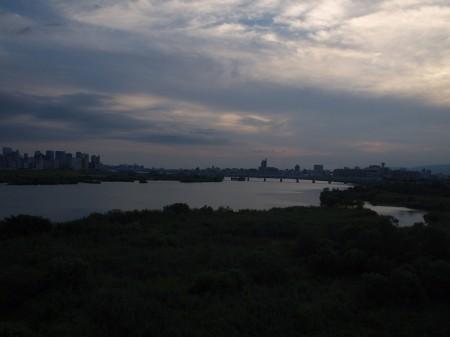 淀川へ帰着