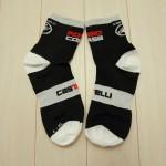 初めての自転車専用ソックス!「Castelli Rosso Corsa 9 Cycling Socks」購入!