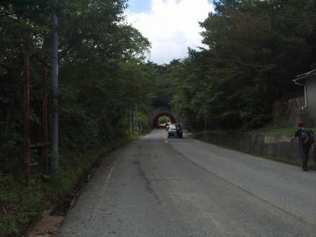 トンネルが見えたら残りわずか!