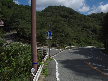 R82小笠峠へ