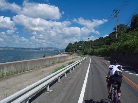 明石海峡大橋が見えてきました