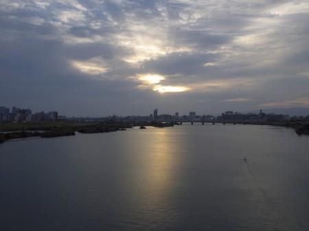淀川に帰着