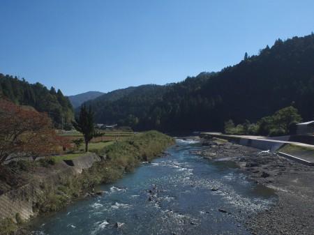 桂川の上流